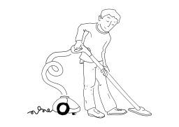 Passer l'aspirateur. Source : http://data.abuledu.org/URI/502762ab-passer-l-aspirateur