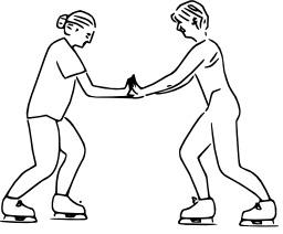 Patineurs et loi de Newton. Source : http://data.abuledu.org/URI/50b15799-patineurs-et-loi-de-newton