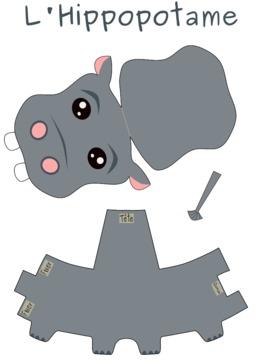 Patron d'hippopotame. Source : http://data.abuledu.org/URI/53f8d786-patron-d-hippopotame