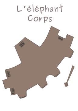 Patron de corps d'éléphant. Source : http://data.abuledu.org/URI/53f8d687-patron-de-corps-d-elephant