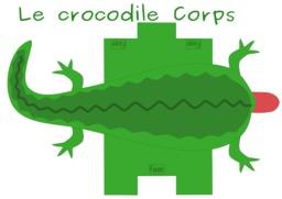 Patron de corps de crocodile. Source : http://data.abuledu.org/URI/53f8d5e3-patron-de-corps-de-crocodile