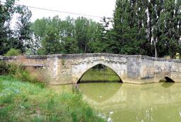 Pavie - Vieux Pont sur le Gers. Source : http://data.abuledu.org/URI/52c312e9-pavie-vieux-pont-sur-le-gers