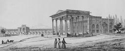 Pavillon des miroirs à Aynekhane en 1840. Source : http://data.abuledu.org/URI/5651ee2c-pavillon-des-miroirs-a-aynekhane-en-1840