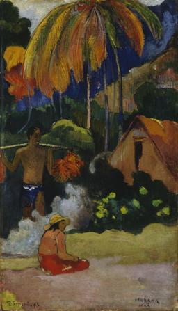 Paysage à Tahiti. Source : http://data.abuledu.org/URI/52b7f07d-paysage-a-tahiti