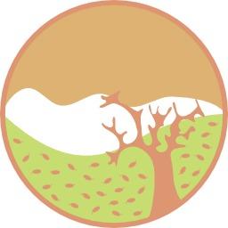 Paysage d'automne stylisé. Source : http://data.abuledu.org/URI/54043376-paysage-d-automne-stylise