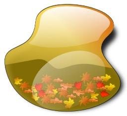 Paysage d'automne stylisé. Source : http://data.abuledu.org/URI/540433d0-paysage-d-automne-stylise