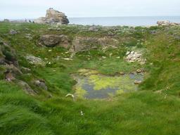 Paysage de l'Île Vierge dans le Finistère. Source : http://data.abuledu.org/URI/56d55422-paysage-de-l-ile-vierge-dans-le-finistere