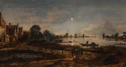 Pêche au clair de lune. Source : http://data.abuledu.org/URI/52cddeba-peche-au-clair-de-lune