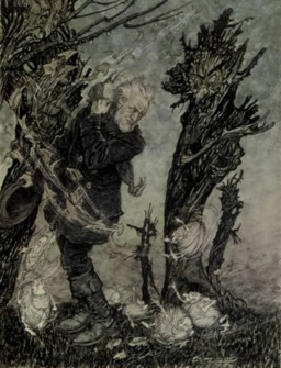 Peer Gynt et les nuées. Source : http://data.abuledu.org/URI/51a294c4-peer-gynt-et-les-nuees