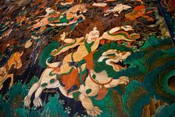 Pehar sur un lion des neiges. Source : http://data.abuledu.org/URI/54415f61-pehar-sur-un-lion-des-neiges