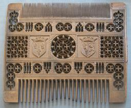 Peigne  du seizième siècle. Source : http://data.abuledu.org/URI/53a86d1e-peigne-du-seizieme-siecle