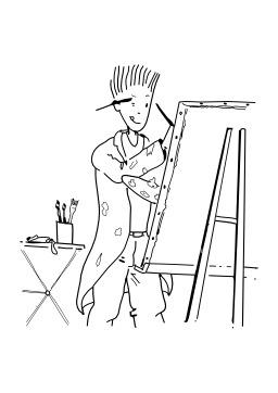 Peindre. Source : http://data.abuledu.org/URI/5027635d-peindre