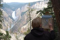 Peintre de paysage. Source : http://data.abuledu.org/URI/50f42652-peintre-de-paysage