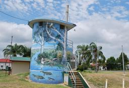 Peinture murale à Mundubbera. Source : http://data.abuledu.org/URI/56ca0982-peinture-murale-a-mundubbera