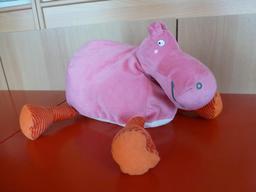 Peluche d'hippopotame. Source : http://data.abuledu.org/URI/540022a3-peluche-d-hippopotame