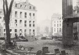 Percement de l'avenue de l'Opéra entre 1853 et 1870. Source : http://data.abuledu.org/URI/59640747-percement-de-l-avenue-de-l-opera-entre-1853-et-1870