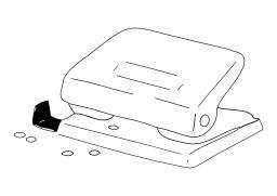Perforatrice. Source : http://data.abuledu.org/URI/50276636-perforatrice