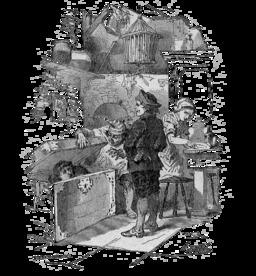Petit Claus et Grand Claus d'Andersen. Source : http://data.abuledu.org/URI/51103134-petit-claus-et-grand-claus-d-andersen