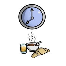 Petit déjeuner. Source : http://data.abuledu.org/URI/5836ca56-petit-dejeuner