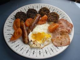 Petit déjeuner irlandais. Source : http://data.abuledu.org/URI/533bf8fd-petit-dejeuner-irlandais