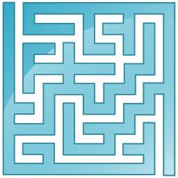 Petit labyrinthe. Source : http://data.abuledu.org/URI/53cda06a-petit-labyrinthe