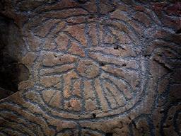 Pétroglyphes de la grotte de Belmaco. Source : http://data.abuledu.org/URI/52d18870-petroglyphes-de-la-grotte-de-belmaco