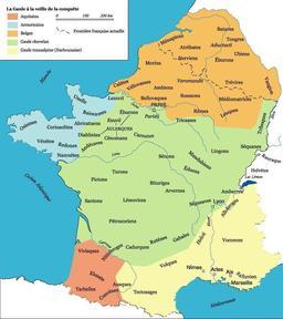 Peuples gaulois avant la conquête. Source : http://data.abuledu.org/URI/50913725-peuples-gaulois-avant-la-conquete