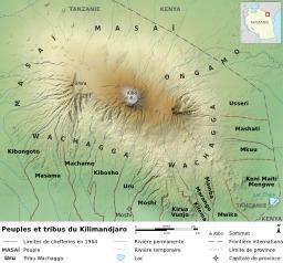 Peuples vivant autour du Mont Kilimanjaro. Source : http://data.abuledu.org/URI/51d09d84-peuples-vivant-autour-du-mont-kilimanjaro