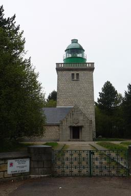Phare d'Ailly en Haute-Normandie. Source : http://data.abuledu.org/URI/535e1ec1-phare-de-ailly