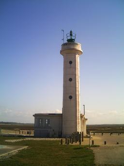 Phare du Hourdel en Mer du Nord. Source : http://data.abuledu.org/URI/53592f23-phare-du-hourdel