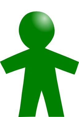 Pictogramme d'enfant vert. Source : http://data.abuledu.org/URI/50e4e48e-pictogramme-d-enfant-vert