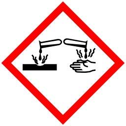 Pictogramme pour produits corrosifs. Source : http://data.abuledu.org/URI/52055e25-pictogramme-pour-produits-corrosifs