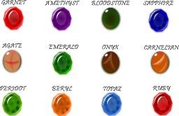 Pierres précieuses. Source : http://data.abuledu.org/URI/504a3a47-pierres-precieuses