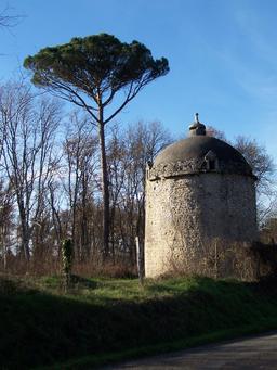 Pigeonnier de Cazeneuve en Gironde. Source : http://data.abuledu.org/URI/536b1be8-pigeonnier-de-cazeneuve-en-gironde