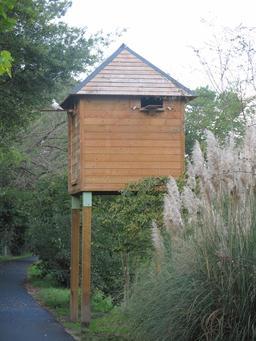 Pigeonnier moderne à Capbreton. Source : http://data.abuledu.org/URI/536b95af-pigeonnier-moderne-a-capbreton