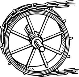 Pignon de chaîne. Source : http://data.abuledu.org/URI/5389b2f5-pignon-de-chaine