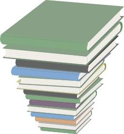 Pile de livres. Source : http://data.abuledu.org/URI/504763fb-pile-de-livres