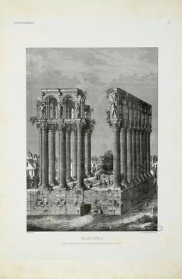 Piliers de Tutelle à Bordeaux en 1565. Source : http://data.abuledu.org/URI/5401f308-piliers-de-tutelle-a-bordeaux-en-1565