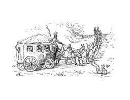 Pinocchio et l'attelage d'ânes. Source : http://data.abuledu.org/URI/51a23b49-pinocchio-et-l-attelage-d-anes