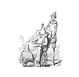Pinocchio et son père. Source : http://data.abuledu.org/URI/51a23f52-pinocchio-et-son-pere