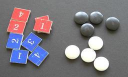 Pions du jeu de Yunnori. Source : http://data.abuledu.org/URI/55120c95-pions-du-jeu-de-yunnori
