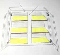 Placard de cuisine à étagères. Source : http://data.abuledu.org/URI/5369f454-placard-de-cuisine-a-etageres