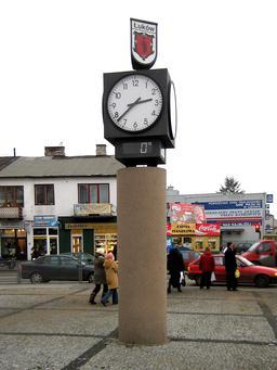 Place de la Solidarité et de la Liberté à Łuków en Pologne. Source : http://data.abuledu.org/URI/529a5d41-place-de-la-solidarite-et-de-la-liberte-a-uk-w-en-pologne