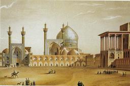 Place de Naqsh-e Jahan en 1867. Source : http://data.abuledu.org/URI/5651f823-place-de-naqsh-e-jahan-en-1867