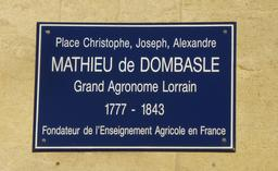 Place Mathieu de Dombasle à Nancy. Source : http://data.abuledu.org/URI/5819c2e1-place-mathieu-de-dombasle-a-nancy