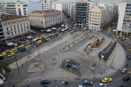 Place Omonias à Athènes. Source : http://data.abuledu.org/URI/58d019e3-place-omonias-a-athenes