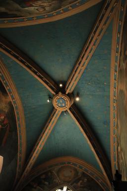 Plafond de l'oratoire d'Anne de Bretagne. Source : http://data.abuledu.org/URI/55ccd612-plafond-de-l-oratoire-d-anne-de-bretagne