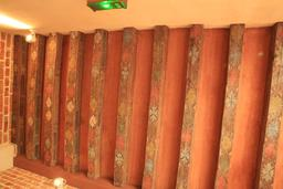 Plafond peint à Clos Lucé. Source : http://data.abuledu.org/URI/55ccd43e-plafond-peint-a-clos-luce