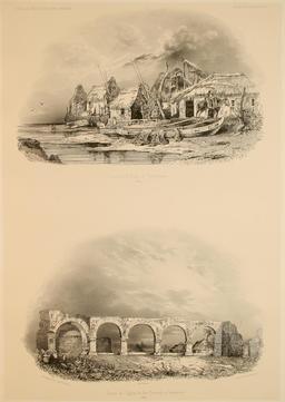 Plage de Talcahuano au Chili en 1838. Source : http://data.abuledu.org/URI/59806b3d-plage-de-talcahuano-au-chili-en-1838