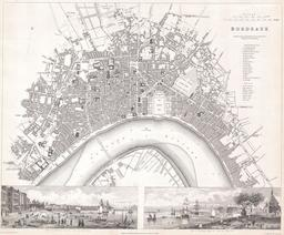 Plan de Bordeaux en 1832. Source : http://data.abuledu.org/URI/53f4f7ed-plan-de-bordeaux-en-1832